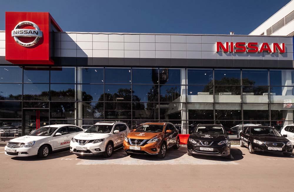 Автосалон Nissan